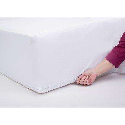 Bed Bug Mattress Cover.Protectease Waterproof Dust Mite And Bed Bug Mattress Protector