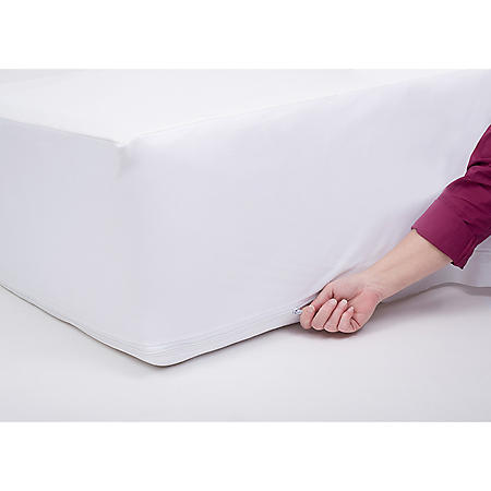 Bed Bug Mattress Cover.Protectease Premium Waterproof Dust Mite And Bed Bug Mattress