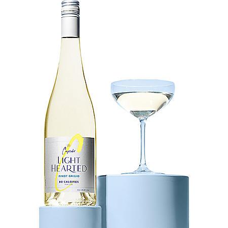 Cupcake LightHearted Pinot Grigio White Wine (750 ml)