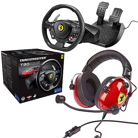 Thrustmaster 488 Wheel and Scuderia Headset