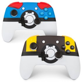 PowerA Enhanced Wireless Controllers for Nintendo Switch: Ultra Ball and Great Ball