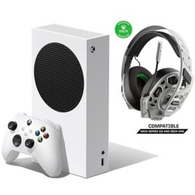 Xbox Series S Bundle with RIG 500 PRO EX White Headset