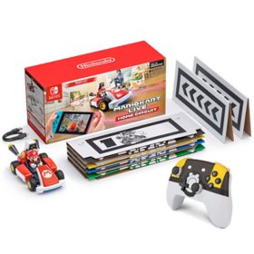 Mario Kart Live: Home Circuit Mario Set, Plus Power A Wireless Controller