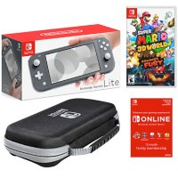 Deals on Nintendo Switch Lite Gray Bundle