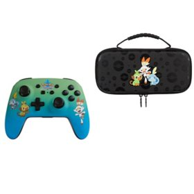 Power A Pokémon Sword Wireless Controller and Protection Case