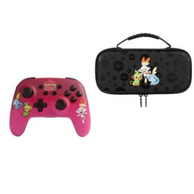 Power A Pokémon Shield Wireless Controller and Protection Case
