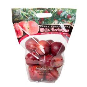 White Nectarines (4 lbs.)