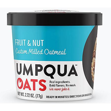 Umpqua Fruit and Nut Oatmeal (2.73 oz., 12 ct.)