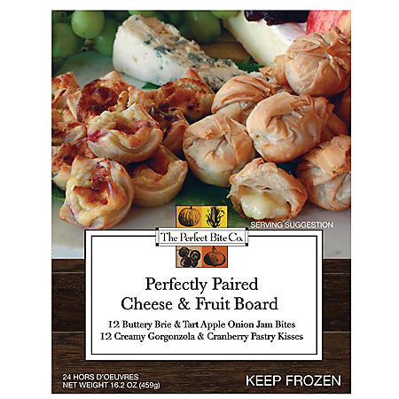 The Perfect Bite Perfectly Paired Cheese and Fruit Board (24 ct.)