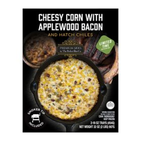 The Perfect Bite Cheesy Corn with Applewood Bacon and Hatch Chilis, Frozen (32 oz.)
