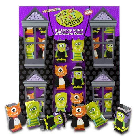Trick or Treat Halloween Candy Monster Boxes - 24 ct.