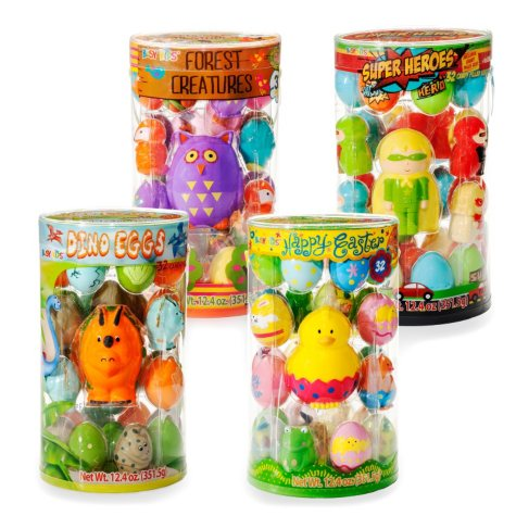 Busy Kids 32 Count Easter Egg Pail (various options)