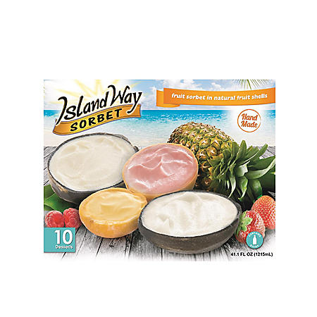 Island Way Sorbet Variety Pack (10 ct ) - Sam's Club