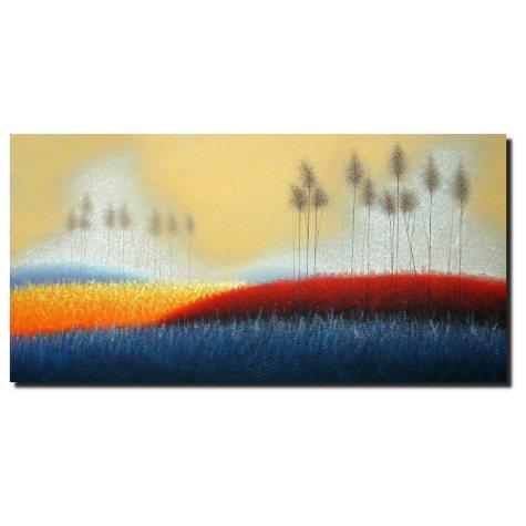 """Hand Painted Oil Art - """"Mystique"""""""