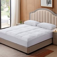 Feather and Loom Triple Chamber Mattress Topper (Assorted Sizes)