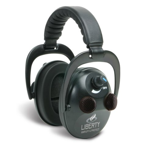 Liberty Earmuffs - Sophisticated Personal Sound Protection and Amplification Product