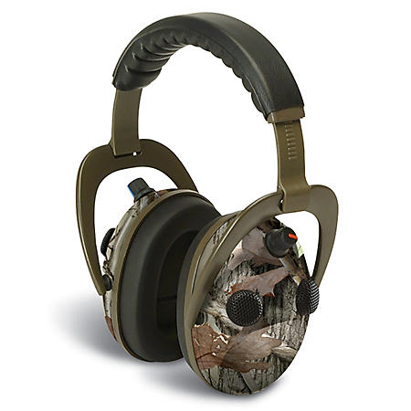 Walker's Game Ear Alpha Muff 360 Quad with NXT Camo