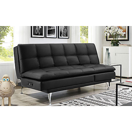 Serta Dream Convertible Sofa Sam S Club Baci Living Room