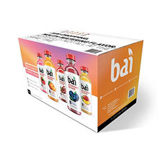 Bai Antioxidant Infusion Variety Pack (18 fl. oz. bottles, 15 ct.)