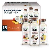 Bai Antioxidant Cocofusions Variety Pack (18 fl. oz., 15 pk.)
