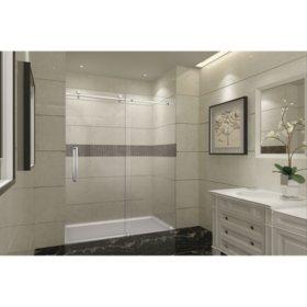 Aston Miramar Sliding Shower Door (Chrome Finish)