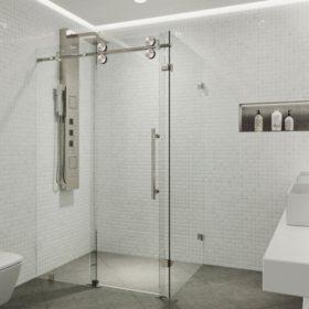 Vigo Winslow Frameless Sliding Door Shower Enclosure