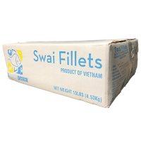 Frozen Swai Fillets (8-10 oz. each, 10 lbs.)