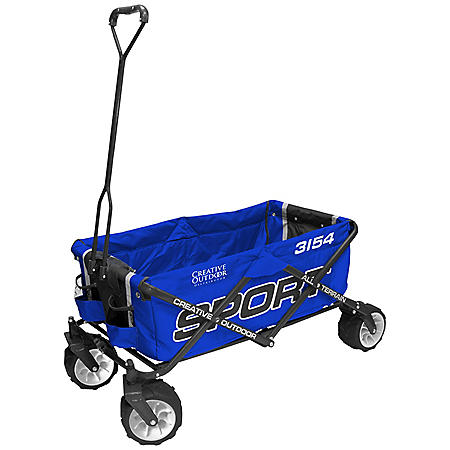 Creative Outdoor All-Terrain Folding Sport Wagon Edition (Various Colors)