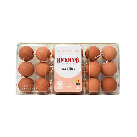 Cage Free Brown Eggs (18 Ct.) by Great Day Farms