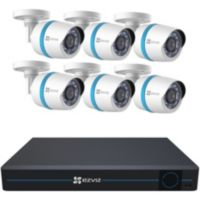 EZVIZ 8-Ch 2TB Security System w/6 Cameras