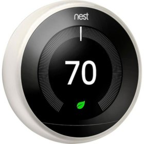 Google Nest Learning Thermostat 3rd Generation (White)