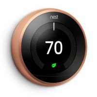 Google Nest Learning Thermostat 3rd Generation (Copper)