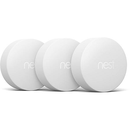 Google Nest Temperature Sensor - 3 Pack (White)