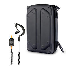 Tough Tested Safe Driving Mono Earbud With Microphone And Tech Gear Bag