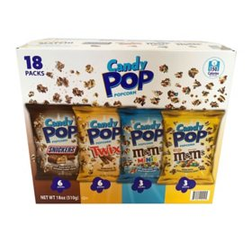 Candy Pop Popcorn Variety Pack (18 ct.)