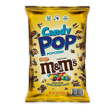 Candy Pop Popcorn M&M's Peanut (20 oz.)