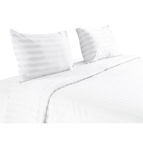 100% Pima Cotton 820 Thread Count 4 Piece Sheet Set -  King (White)