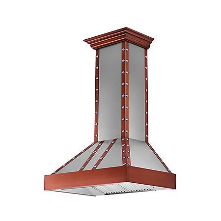 ZLINE 36-in. 1200 CFM Designer Series Wall-Mount Range Hood