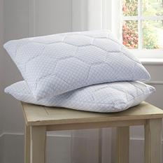 Pure Rest Cooling Gel Memory Foam & Loft Reversible Pillow