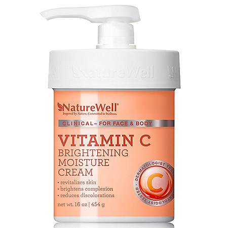 Nature Well Vitamin C Brightening Moisture Cream (16 oz.)