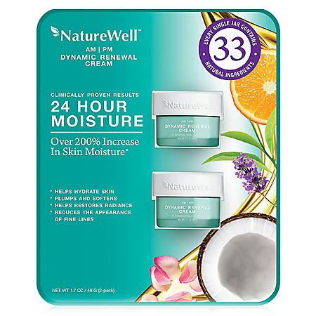 Nature Well Dynamic Renewal Cream (1.7 oz., 2 pk.)