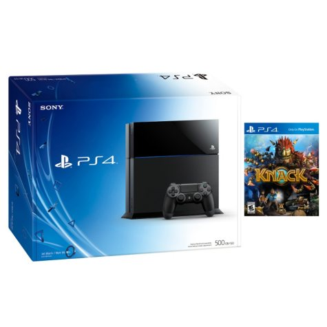 PS4 Console with Knack Bundle