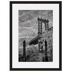 Framed Fine Art Photography - Manhattan Bridge by Vincent Versace