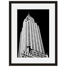 Framed Fine Art Photography - Chrysler Building Skyward by Vincent Versace