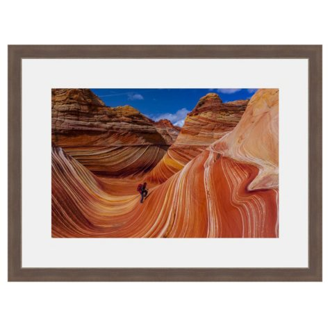 Framed Fine Art Photography - Desert Wave By Blaine Harrington
