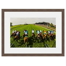 """Framed Fine Art Photography - """"...and they're off!"""" by Blaine Harrington"""