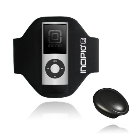 Incipio iPod nano 4G Sport Armband- Black (Short)