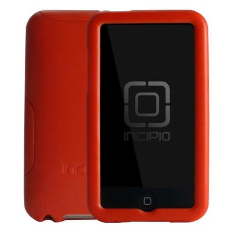 Incipio iPod touch 2G DURO Hard Shell Slider Case- Red