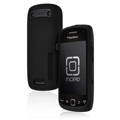 Incipio BlackBerry Curve 9380 SILICRYLIC Hard Shell Case with Silicone Core - Black/Black