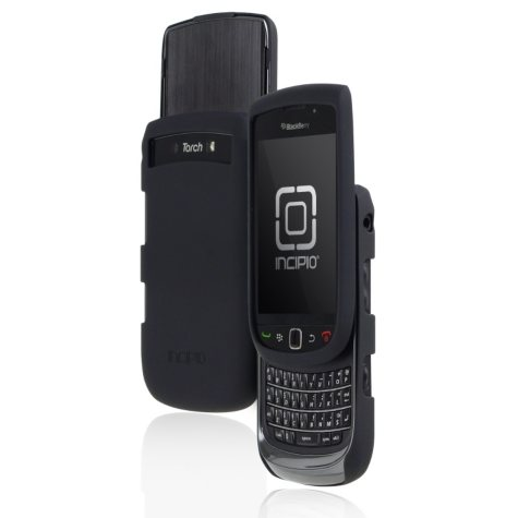 Incipio Torch 9800 9810 Feather Ultralight Hard Shell Case for BlackBerry- Matte Black